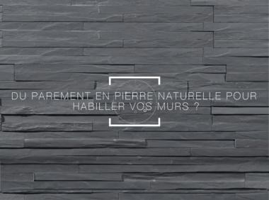 Comment habiller ses murs en pierre naturelle?