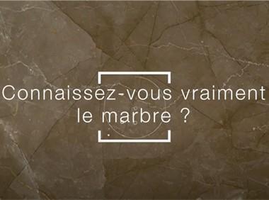 Connaissez-vous vraiment le marbre ?