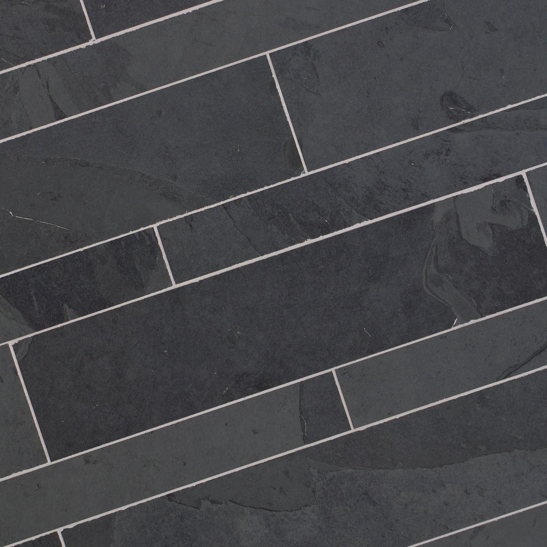 Dalle Ardoise 100 X 30 dallage pierre naturelle noire 60x14 - capri