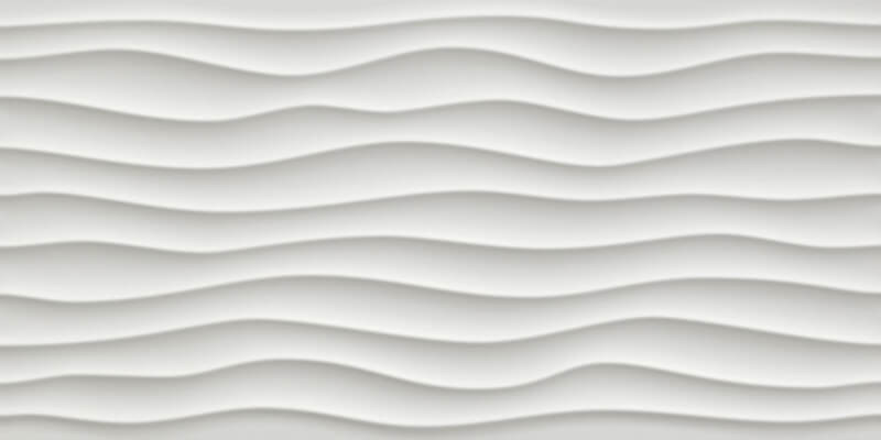 Carrelage Blanc Carina White 3d Vague 80x40cm Capri