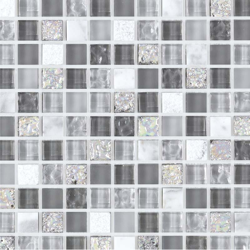 mosa que pierre et verre grise glacier gris capri. Black Bedroom Furniture Sets. Home Design Ideas