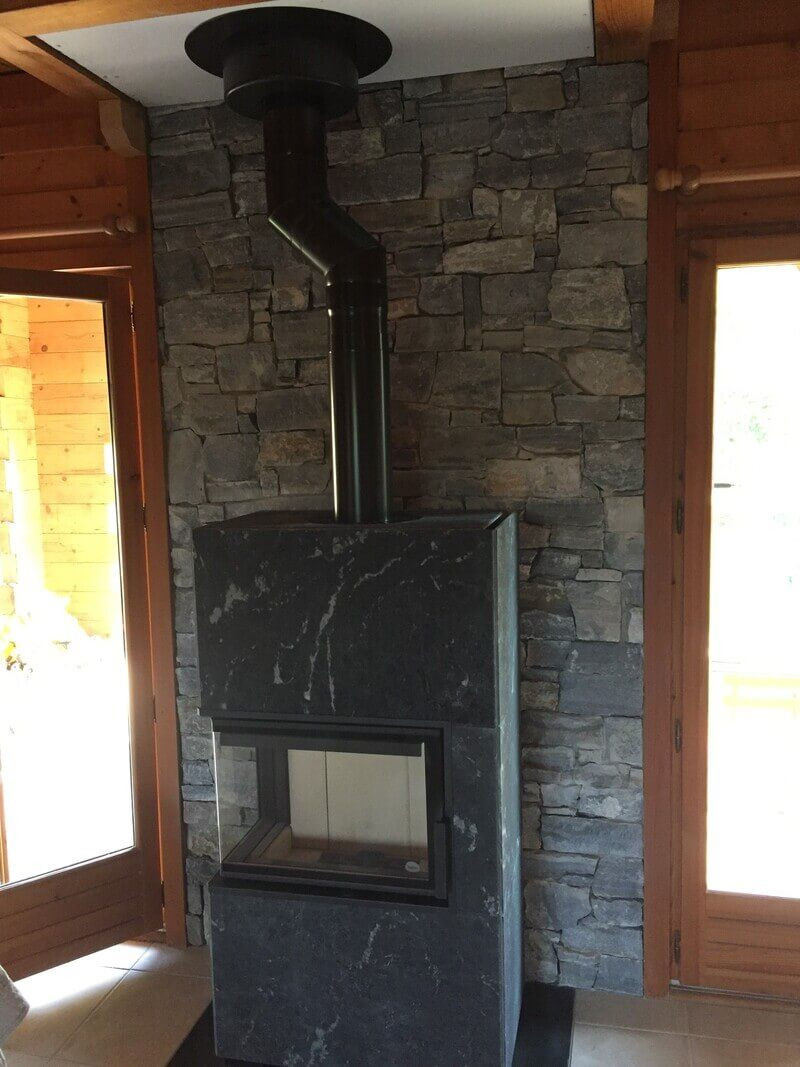 Habiller Un Pilier En Beton parement pierre naturelle gris vercorin xxl - capri