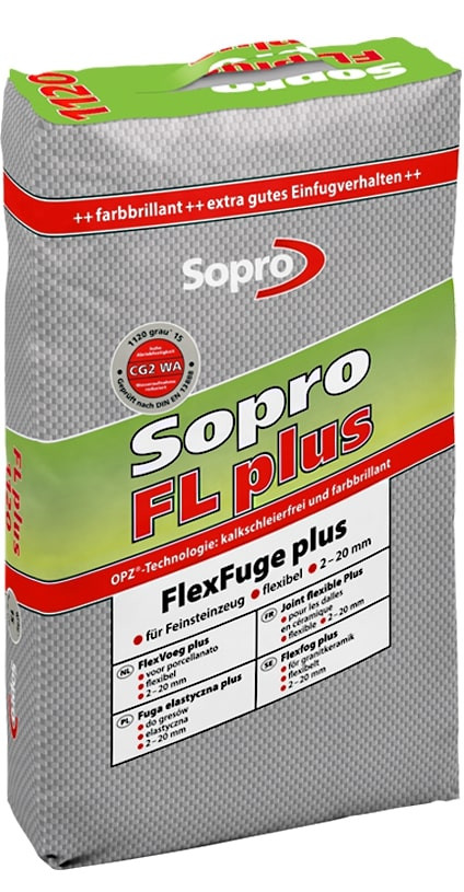 Mortier Joint FL Plus Sopro Gris