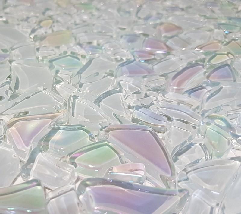 Mosaïque pâte de verre