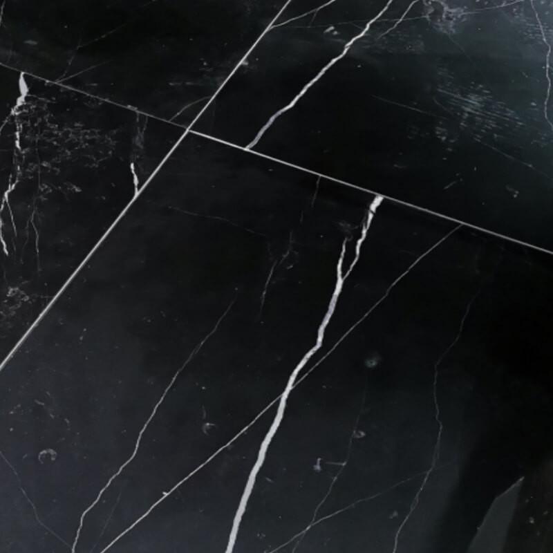 Dallage Algora Black marbre noir intérieur