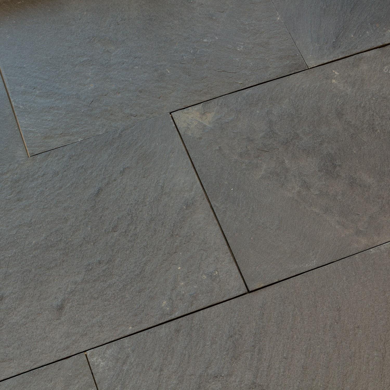 Dallage Quartzite Malaga Black
