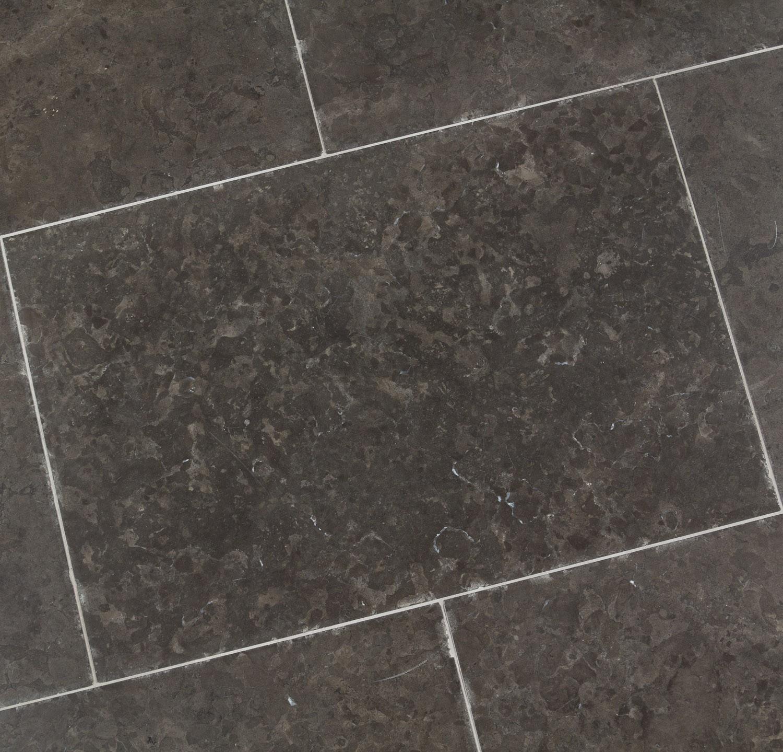 Dallage calcaire grise