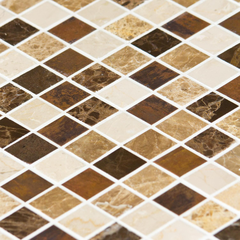 Mosaïque Marbre Mixcolor Emparador