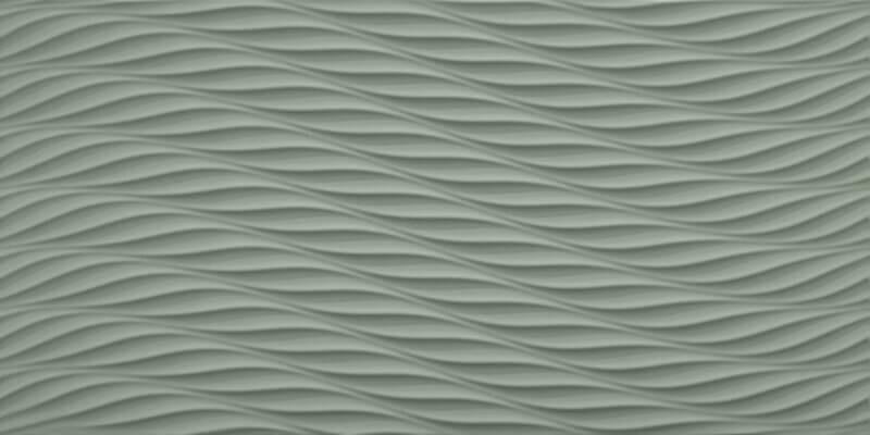 Dallage Céramique Carina Sage 3D Twist
