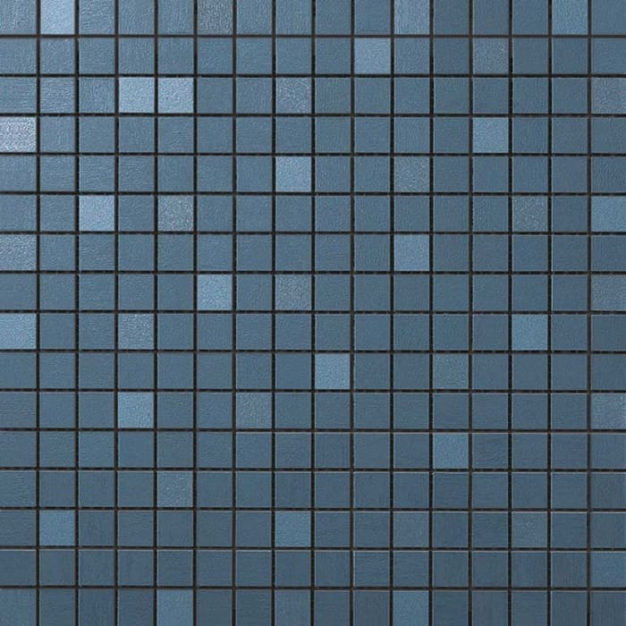 Mosaïque Céramique Columba Blue effet satin