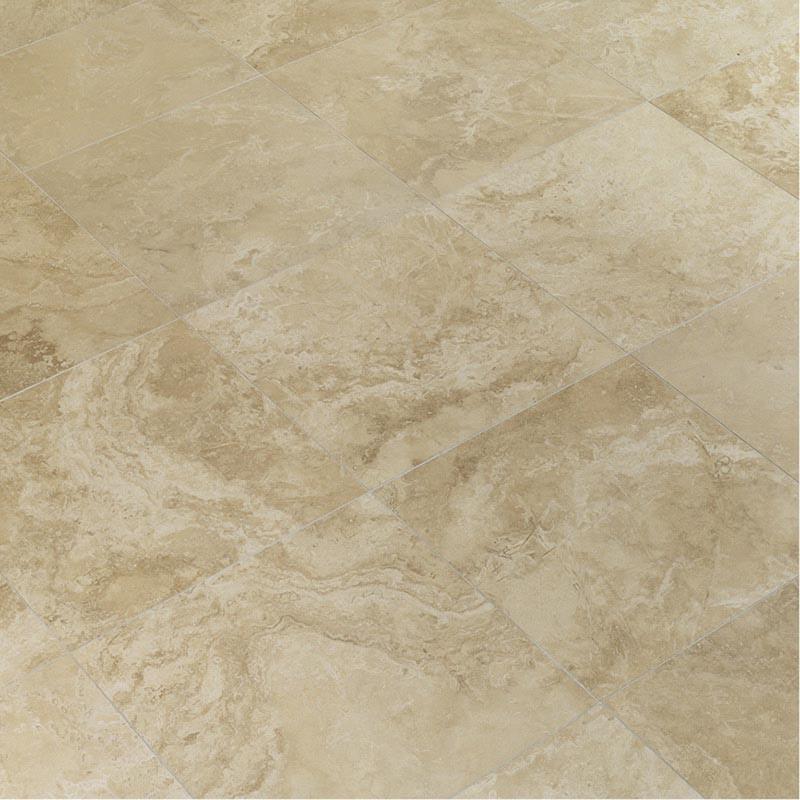 Dallage pierre Travertin beige