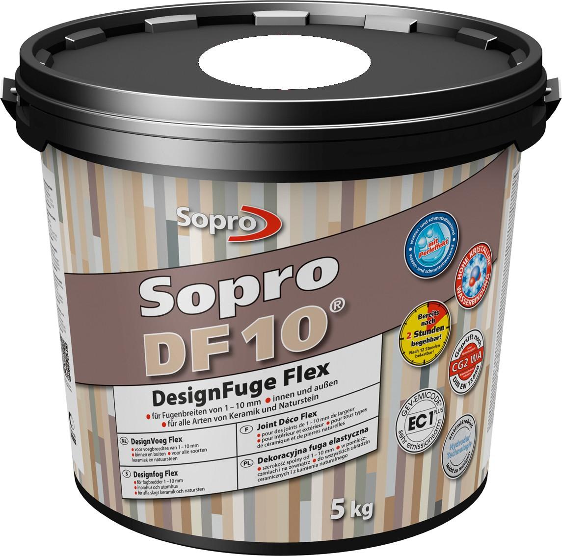 mortier joint ciment sopro DF10 blanc