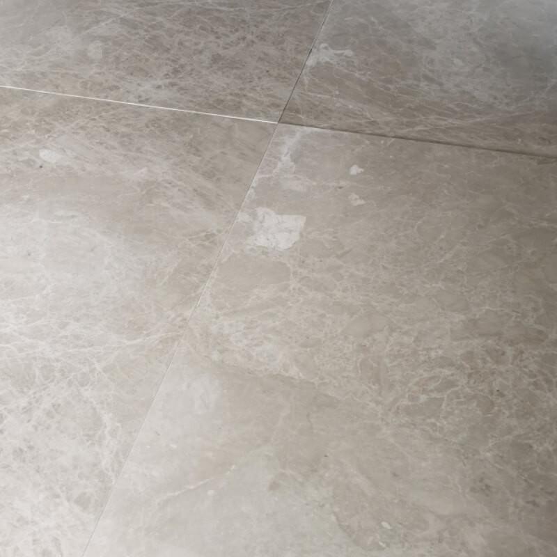 Dallage Oria Beige marbre poli