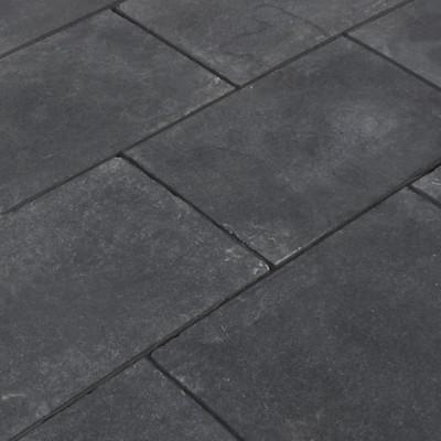 Dallage calcaire noir pierre naturelle