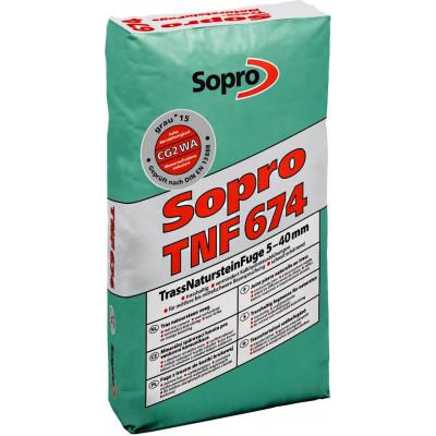 Mortier Joint Sopro TNF Gris pour parement et dallage exterieur