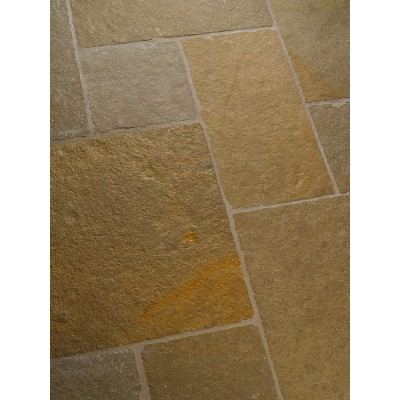Dallage pierre naturelle beige