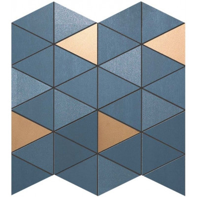 Mosaïque Columba Blue Triangle Céramique