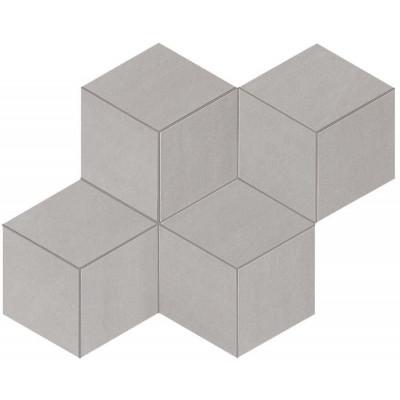Mosaïque Columba Grigio Hexagonale Céramique