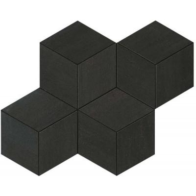 Mosaïque Columba Nero Hexagonale Céramique