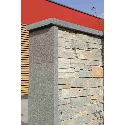 Parement Pierre Quartzite Gris  Varallo Grigio