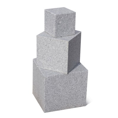 Cube en Granit 40x40x40 cm