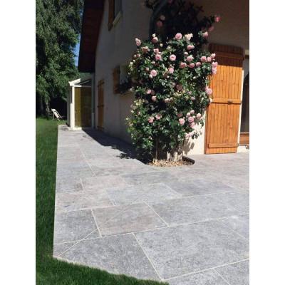 Dallage extérieur calcaire Gris Artemis