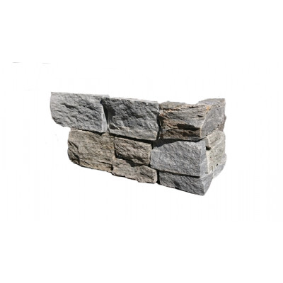 Angle pierre naturelle gris quartzite