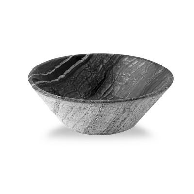 Vasque à poser ronde - Pierre Naturelle Grise