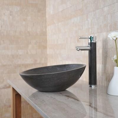 Vasque salle de bain - Pierre Naturelle Grise