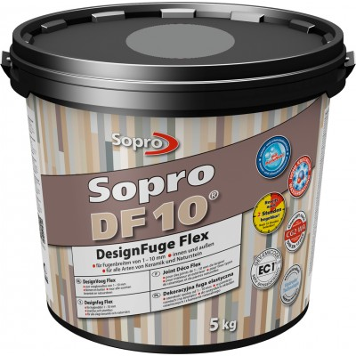 Mortier joint ciment sopro DF10 gris