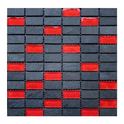 Mosaique Ardoise Himarchal Noir Kos Stack Island Stone