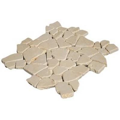 Mosaïque pierre Opus Romain beige