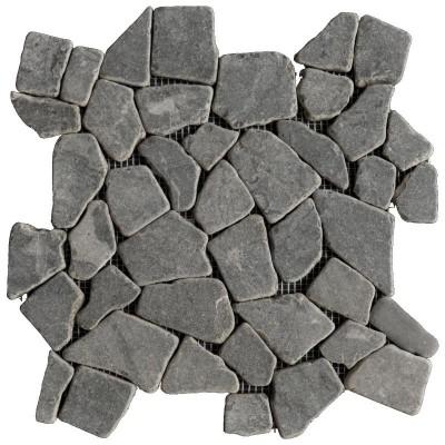 Mosaïque Opus Romain grise