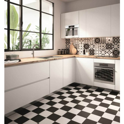 Carrelage Draco Black & White Mix