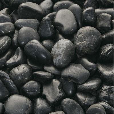 Galets polis noirs 3/5cm