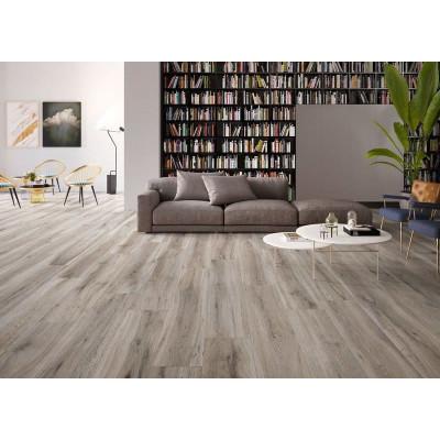 Dallage effet bois Aquila Natural Grey céramique
