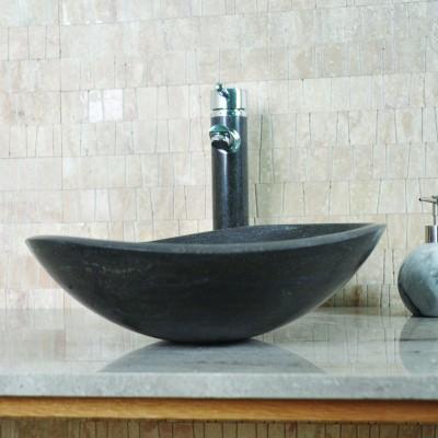 Vasque salle de bain - Calcaire gris