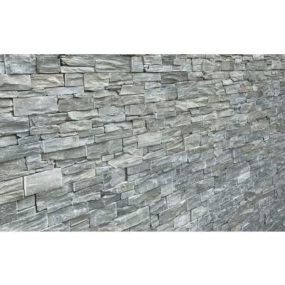 Parement quartzite gris
