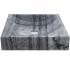 Vasque carrée marbre gris