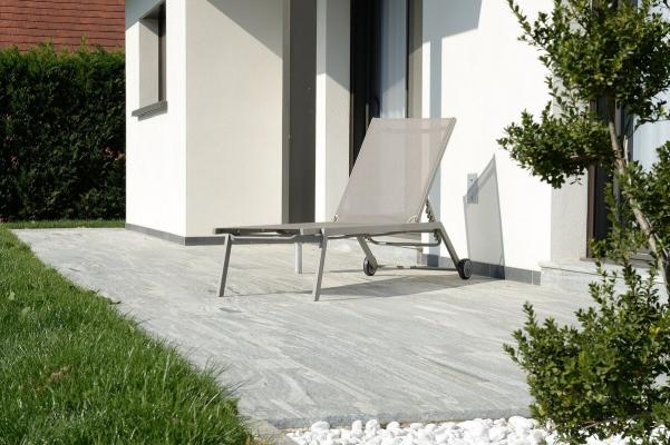 Terrasse granit gris Temuco